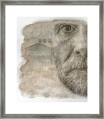 Eye On The Past Framed Print by Randy Steele