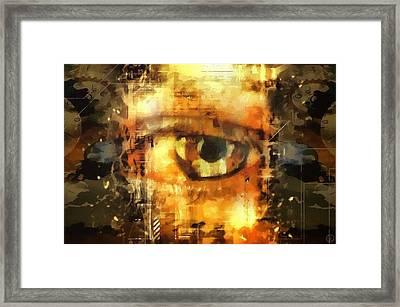 Eye See You Framed Print by Gun Legler