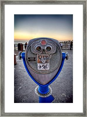 Eye See You Framed Print by Peter Tellone