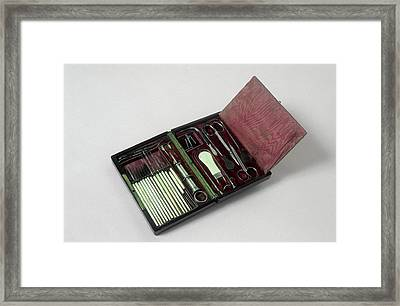 Eye Surgery Equipment Framed Print by Science Photo Library