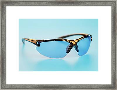 Eyeglasses Framed Print by Wladimir Bulgar