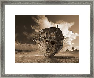 Eyes Are Windows To The Soul Framed Print by George Grie