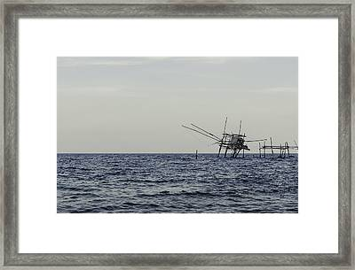 Eyes Of Time Framed Print by Andrea Mazzocchetti