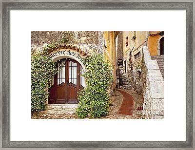 Eze France Framed Print by Brian Jannsen