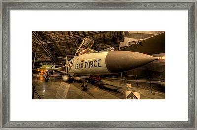 F-101 Voodoo Framed Print by David Dufresne