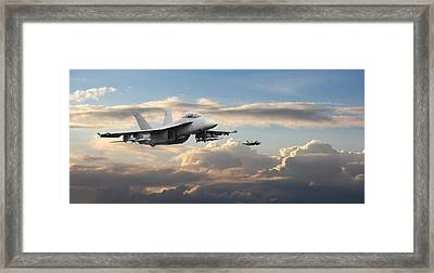 F18 - Super Hornet Framed Print by Pat Speirs