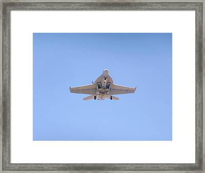 Fa-18ef Super Hornet Framed Print by Amy Ernst