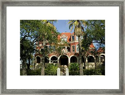 Facade Of A Museum, Moody Mansion Framed Print by Panoramic Images