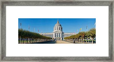 Facade Of The Historic City Hall Framed Print by Panoramic Images