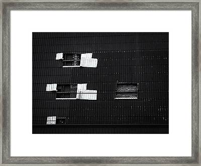 Facade Framed Print by Tim Nichols