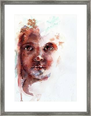 Face Of Africa Framed Print by Stephie Butler