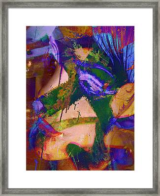 Face The Muse  Framed Print by JC Photography and Art