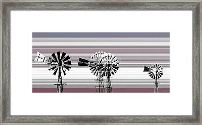 Face To The Wind Framed Print by Holly Kempe