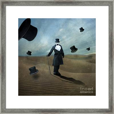 Faceless Framed Print by Juli Scalzi