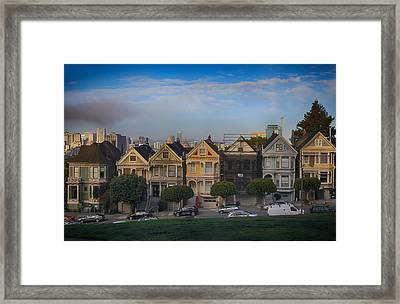 Facelift Framed Print by Laurie Search