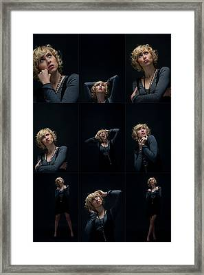 Facial Expression Framed Print by Ralf Kaiser