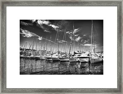 Facing North Framed Print by John Rizzuto