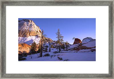 Fade Framed Print by Chad Dutson