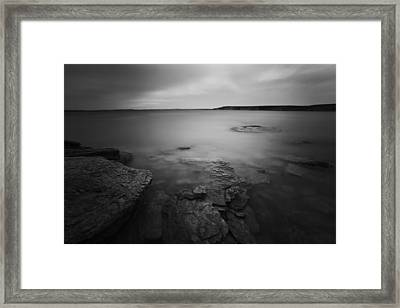 Fade Framed Print by Thomas Zimmerman