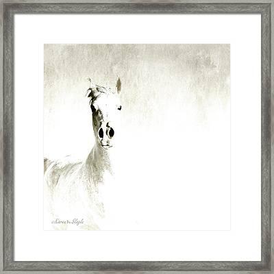 Fade To White Framed Print by Karen Slagle