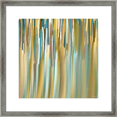Faded Rhythm Framed Print by Lourry Legarde