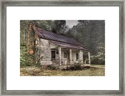 Fading Memories Framed Print by Debra and Dave Vanderlaan