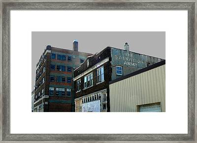 Fading Salvation Framed Print by Lin Haring