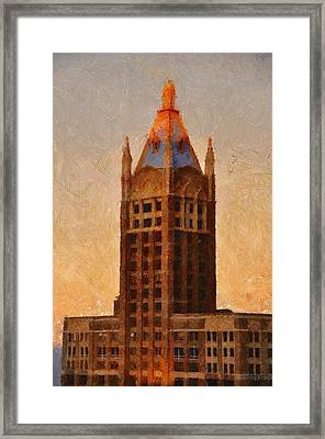 Fading Slowly Into Night Framed Print by Jeff Kolker