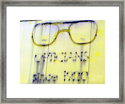 Fading Vision Framed Print by Ed Weidman