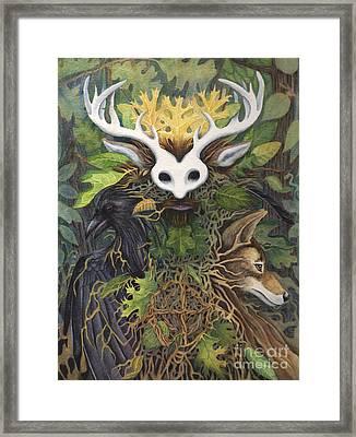 Faerie King Framed Print by Antony Galbraith