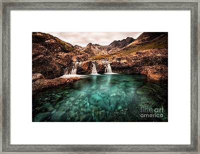 Faerie Pools Framed Print by Matt  Trimble