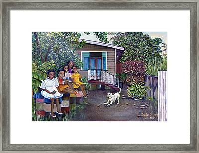 Fair Ladies Framed Print by Trister Hosang