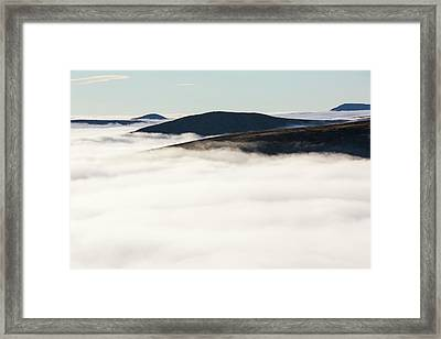 Fairfield From Red Screes Framed Print by Ashley Cooper