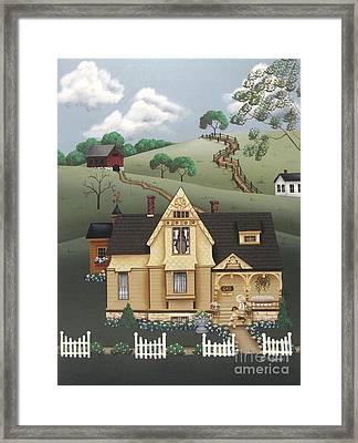 Fairhill Farm Framed Print by Catherine Holman