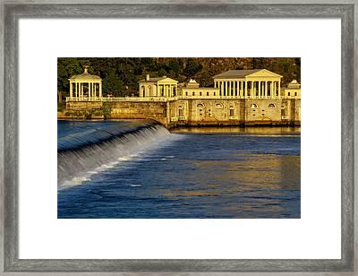 Fairmount Water Works Park Framed Print by Susan Candelario
