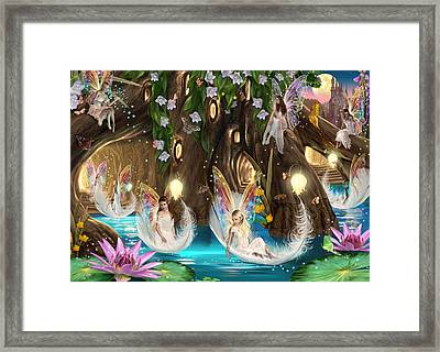 Fairy Ball Framed Print by Garry Walton