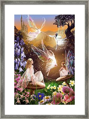 Fairy Ballet Framed Print by Garry Walton