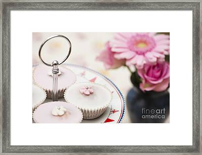 Fairy Cakes Framed Print by Anne Gilbert