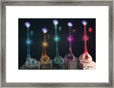 Fairy Dust Framed Print by Michael Rucker