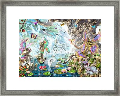 Fairy Falls Framed Print by Adrian Chesterman