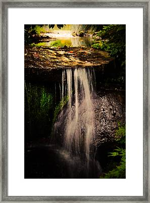 Fairy Falls Framed Print by Loriental Photography