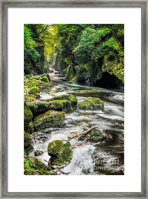 Fairy Glen Framed Print by Adrian Evans