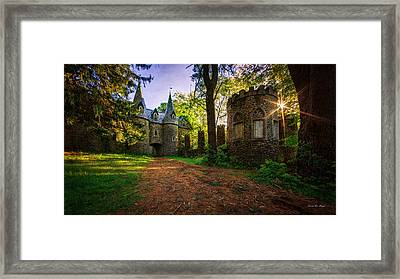 Fairy Tale Castle Framed Print by Everet Regal