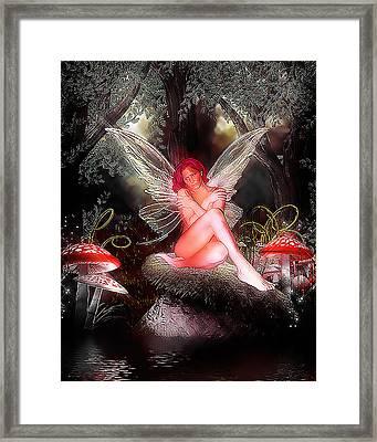 Fairy Wonderland Framed Print by Brian Graybill