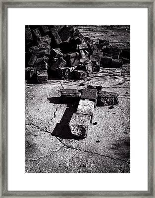 Faith Among The Ruins Framed Print by Bob Orsillo