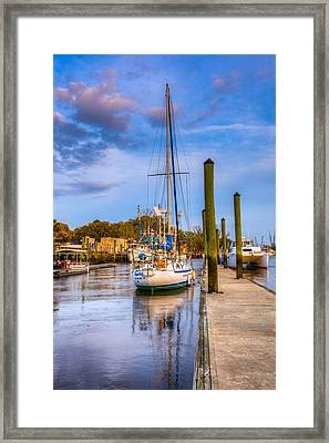 Faith Hope And Charity Framed Print by Debra and Dave Vanderlaan