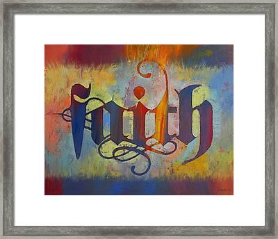 Faith Framed Print by Michael Creese