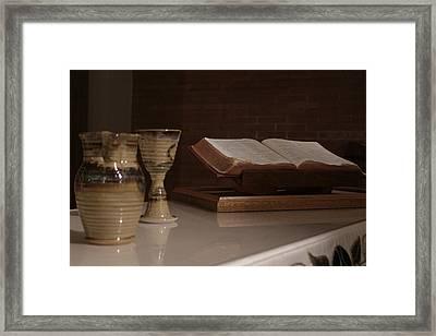 Faith Framed Print by Shoal Hollingsworth