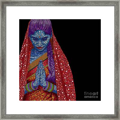 Faith Framed Print by Tim Gainey