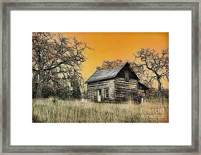 Fall Abandoned Framed Print by Steve McKinzie